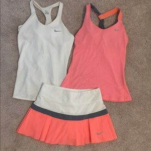 Nike Women's Dri-Fit Tennis Outfit